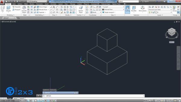 Teclea el comando 3DFACE.