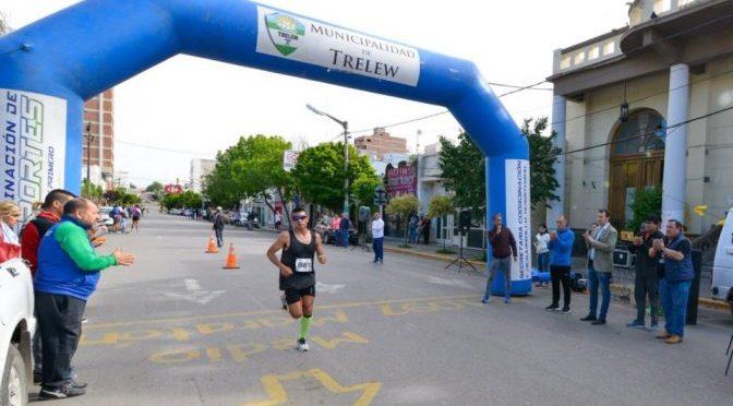 Hugo Rodríguez ganó el maratón patagónico