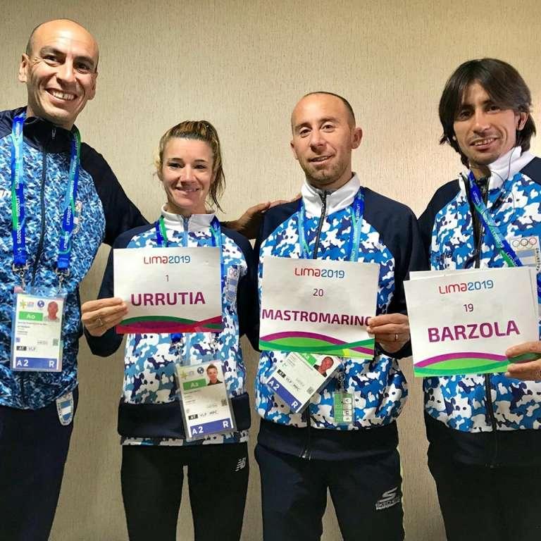 Tres argentinos en el maratón de los Panamericanos 13