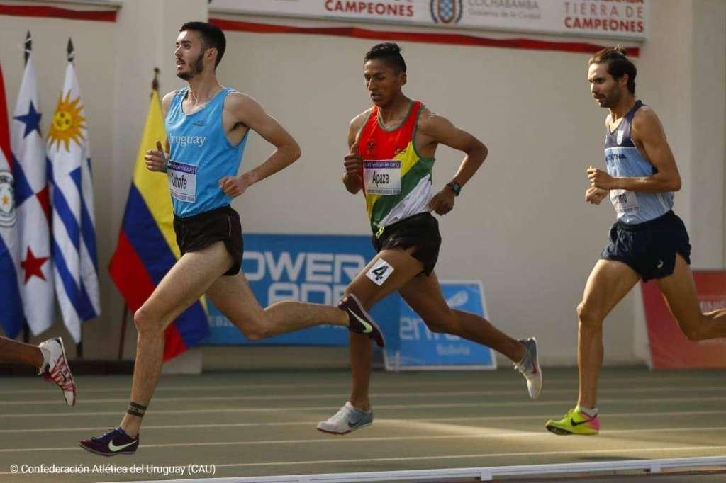 Medalla de oro para Federico Bruno en Cochabamba 1