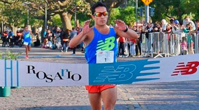 Arbe y Urrutia ganaron los 21k de Rosario