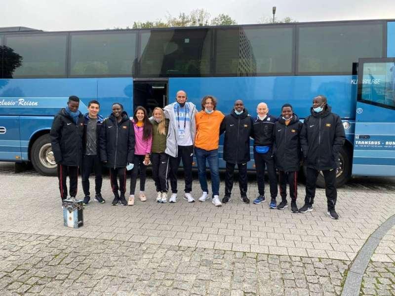 El equipo argentino se despidió de Gdynia junto al campeón Kiplimo 6