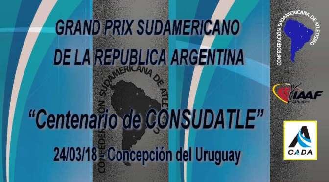 Grand Prix Centenario de CONSUDATLE – ARG