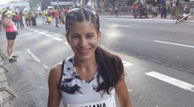 Daiana Ocampo quedó 11a. en la San Silvestre