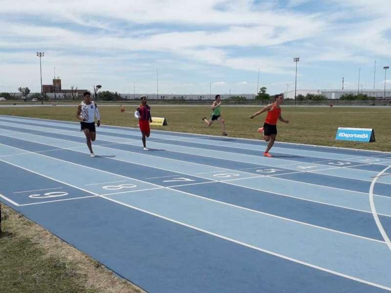 Notable retorno de Franco Florio: 10.21w en 100 metros 2