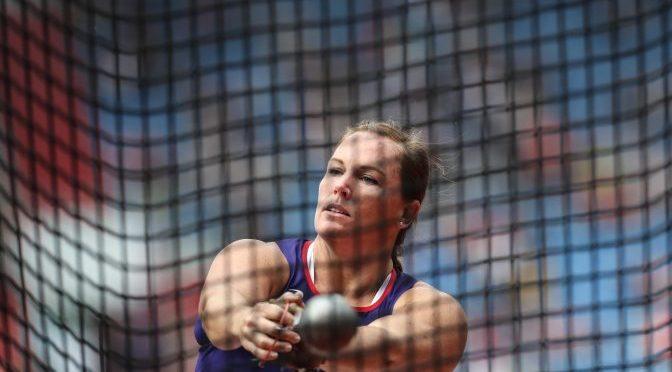 Jennifer Dahlgren, en la Continental Cup de Ostrava