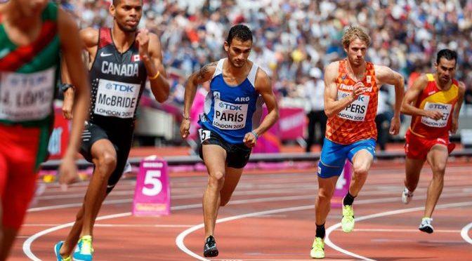 Leandro Paris ganó los 800m en Palencia