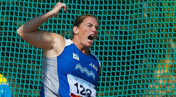 Jennifer Dahlgren: medalla de oro en Cochabamba