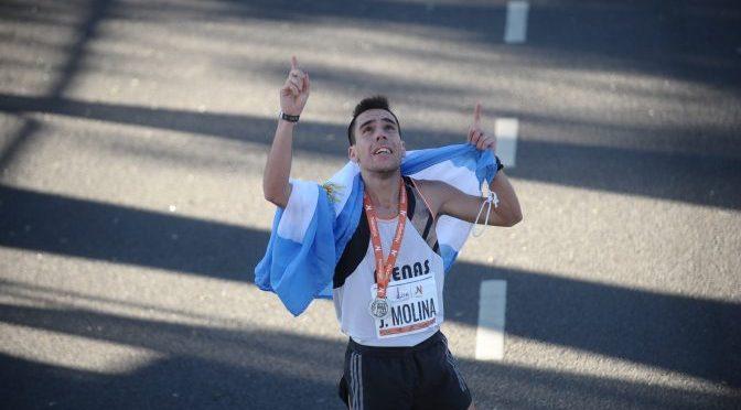 Marcos Julián Molina, el héroe argentino de los 21k