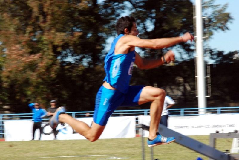 Maxi Díaz, firme sobre los 16 metros 1