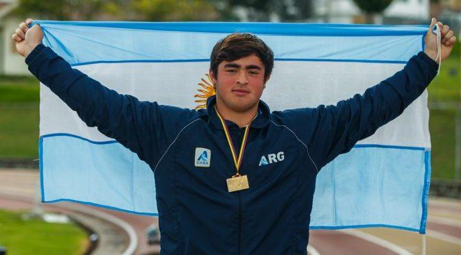Otro récord de Nazareno Sasia, ahora en la u20