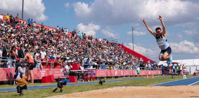 Fervor popular en Buenos Aires con los Juegos