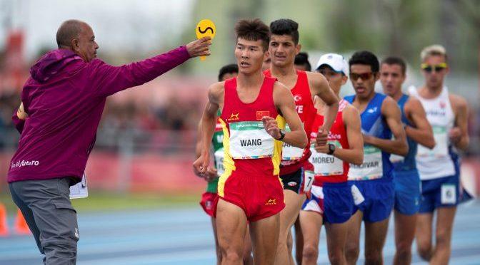 El ecuatoriano Oscar Patin dio el primer impacto