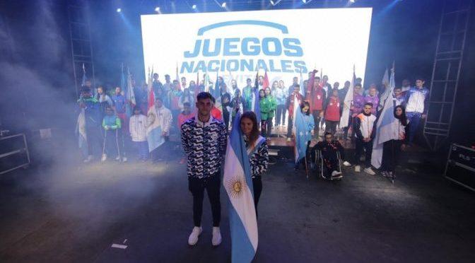 Los Juegos Evita y ovación para los olímpicos