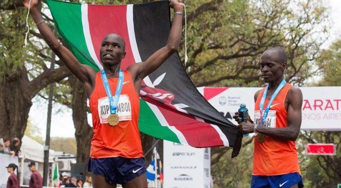 El ganador del maratón de Buenos Aires ahora impresionó en Dubai