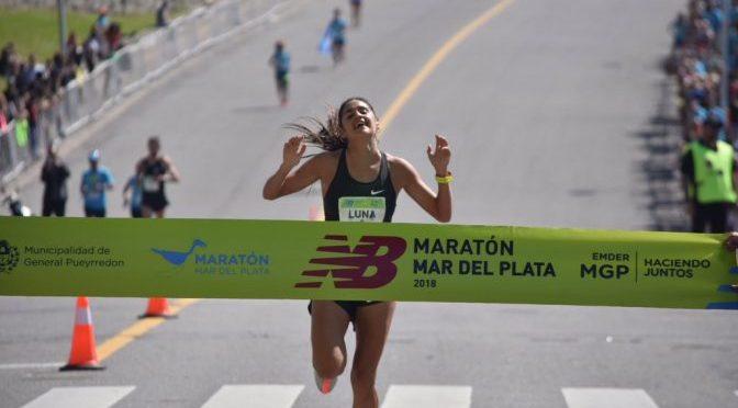 Luis Molina y Sofía Luna se llevaron el maratón de Mar del Plata