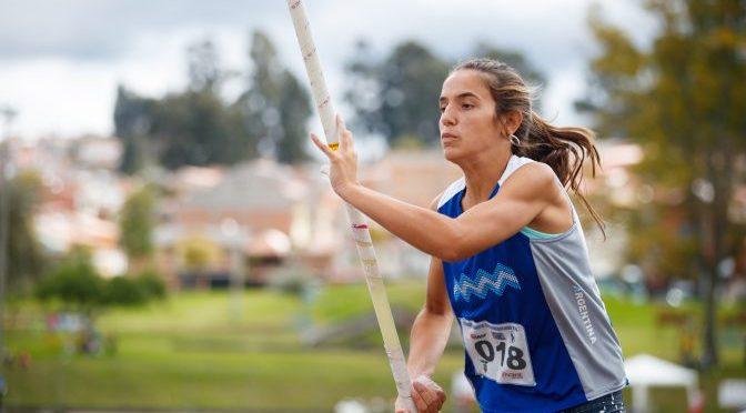 Luciana Gómez-Iriondo y Bautista Diamante lucieron en el Nacional u16