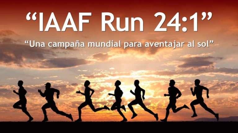 IAAF Run 24:1 Una campaña mundial para aventajar al sol