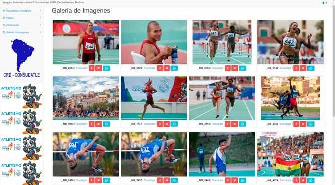 Todas las fotos de los Juegos Sudamericanos Cochabamba 2018