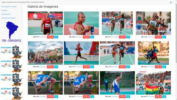 Todas las fotos de los Juegos Sudamericanos Cochabamba 2018 76