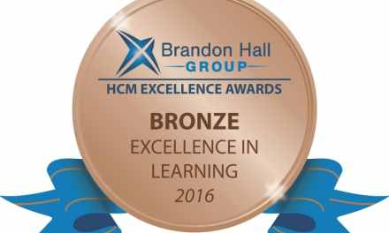 CADD Community Receives Brandon Hall Excellence in Learning Award