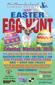 EASTER EGG HUNT for Northumberland Humane Society @ Cobourg Dog Park | Cobourg | Ontario | Canada