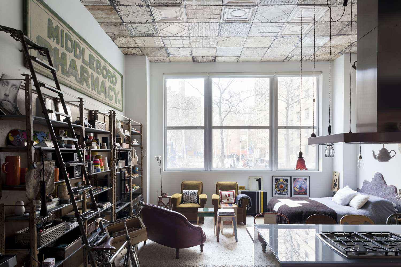 blesso loft   36 Industrial Loft-Style Designs – Download AUTOCAD Blocks ...