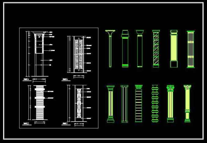 p42roman-column-design-decorative-plate-bars03