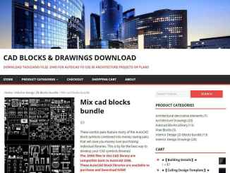 Mix cad blocks bundle-AutoCAD Blocks | AutoCAD Symbols | CAD Drawings | Architecture Details│Landscape Details