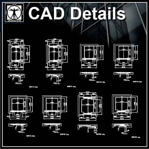 Free Decorative Elements V17 Download Autocad Blocks Drawings