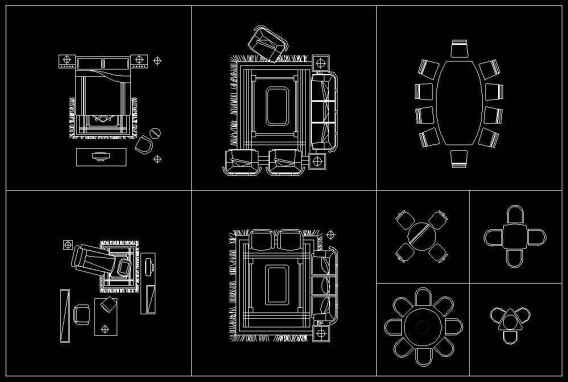 Free Furniture Blocks Download GET STARTED! These CAD blocks dwg file can be Free downloaded NOW !!