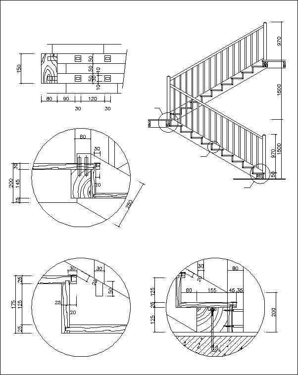 Free Stair Elevation Cad