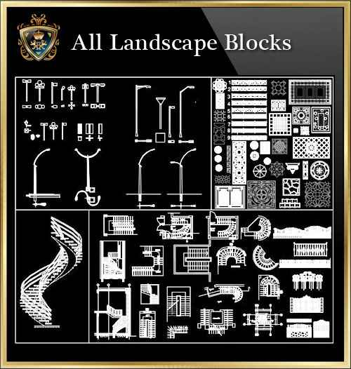Newlogo 3d: Landscape Blocks Collection (All In One!!)