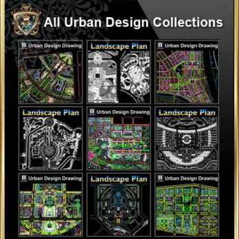 All Urban Design CAD Drawings CollectionsBest Recommanded