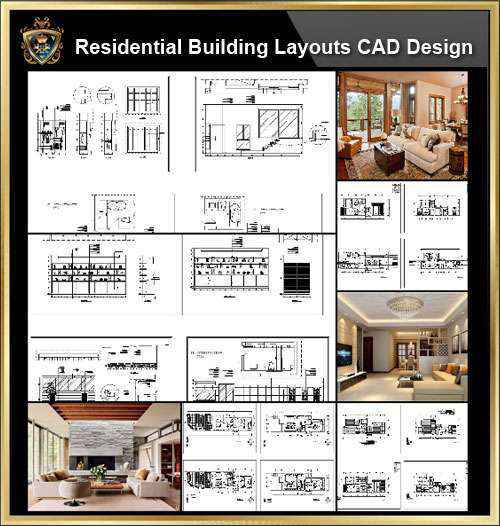 ☆【Shopping Centers,Store CAD Design Elevation,Details