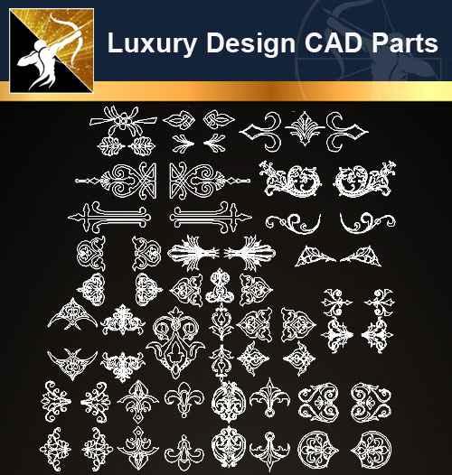 ★【Architecture Decoration Design Element CAD Blocks 】