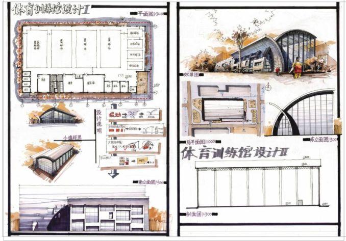 【建築快速設計-@體育館】建築快速設計案例解題-建築計畫與設計-敷地計畫與都市設計
