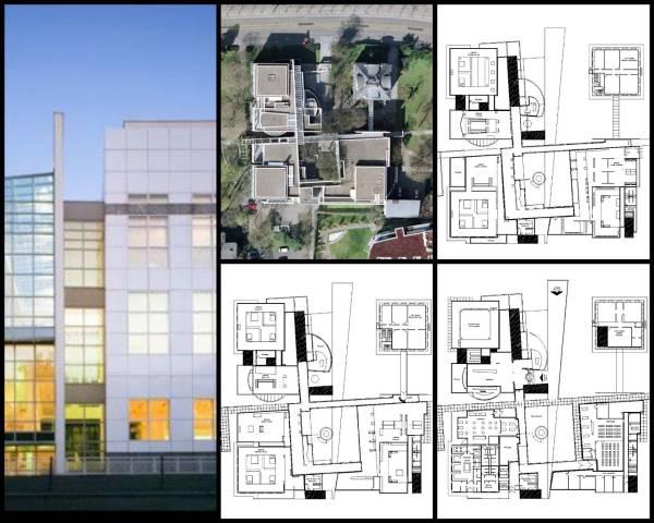 【世界知名建築案例研究CAD設計施工圖】Museo frankfurt 法蘭克福歷史博物館
