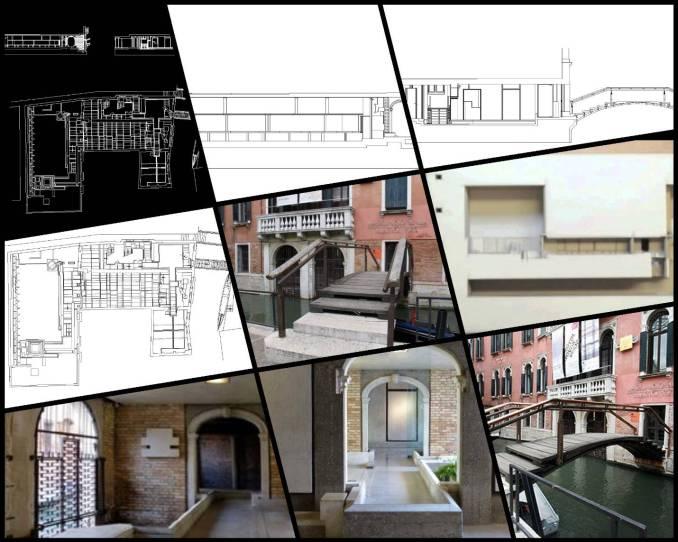 【世界知名建築案例研究CAD設計施工圖】Querini Stampalia基金會-Carlo Scarpa