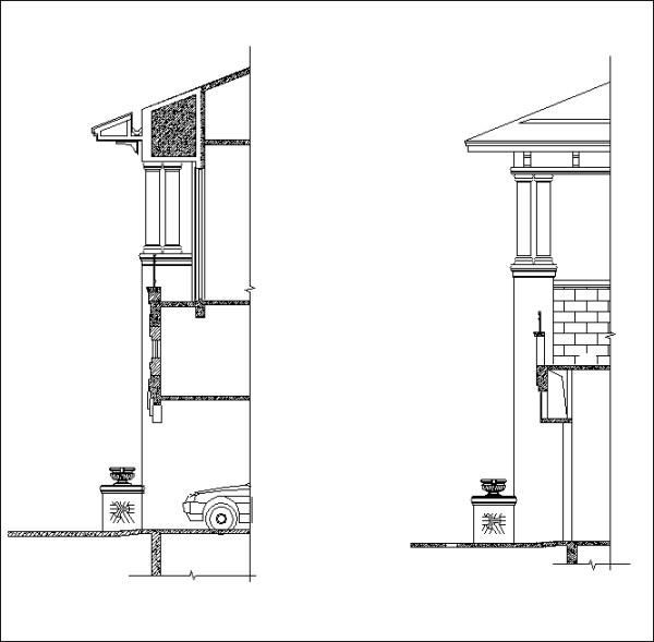 獨棟別墅、別墅節點設計、客廳設計、主臥室、廁所、衛浴、主牆面設計、天花板剖面、電視牆、餐廳櫃、石材柱剖面大樣、室內設計各類施工大樣、裝潢空間設計大樣、石材牆面介面接口、混凝土與其他材質介面