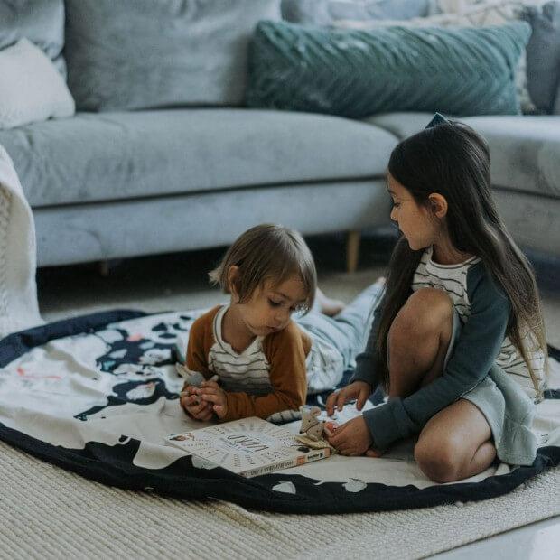 sac tapis de jeu play and go carte du monde