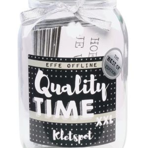 QUALITY TIME: Kletspot XXL