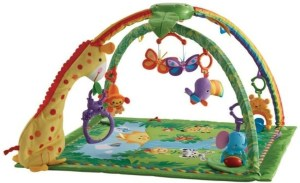 Muzikale fisher price rainforest luxe gym speelkleed