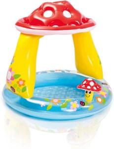 Paddenstoel zwembad voor kinderen