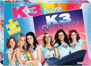 puzzel van 104 stukjes K3
