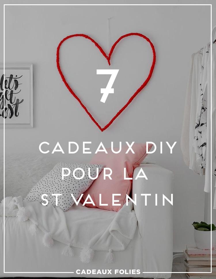7 Ides De Cadeau Saint Valentin Faire Soi Mme