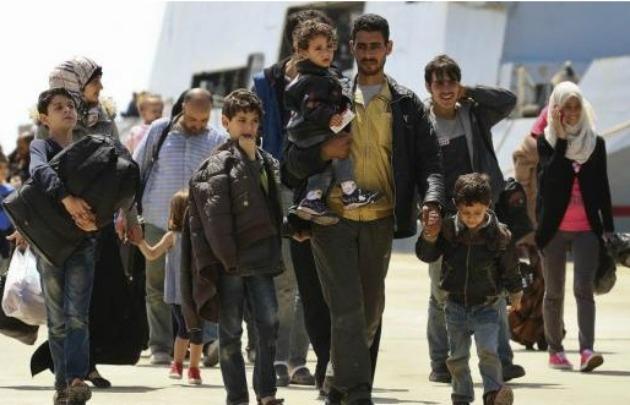 Resultado de imagen para San Luis Refugiados sirios