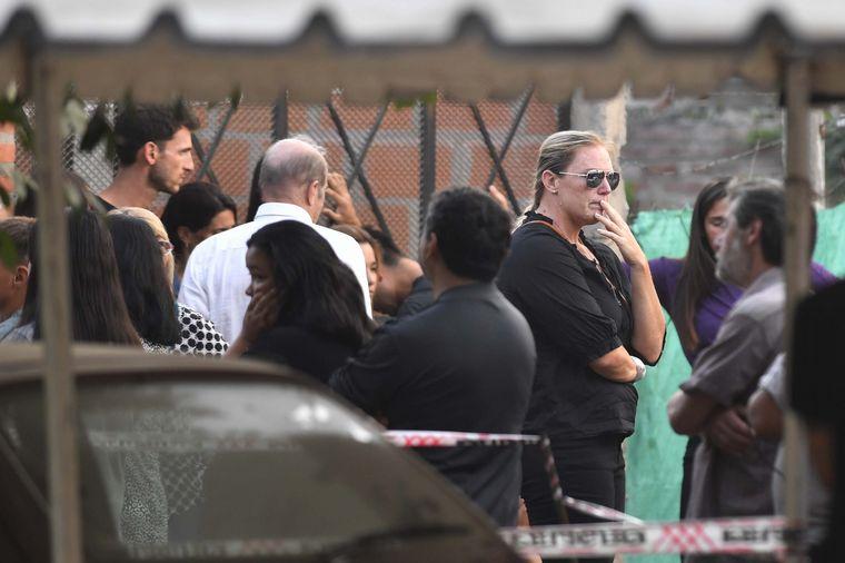 FOTO: Trasladan los restos de Braian Toledo al cementerio de Marcos Paz