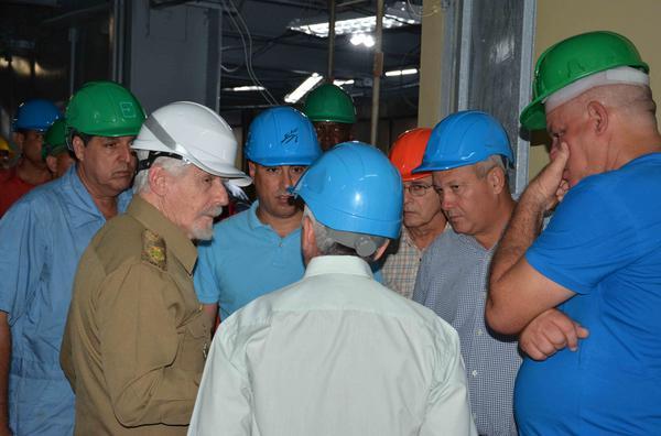 En la termoeléctrica 10 de Octubre, de Nuevitas.