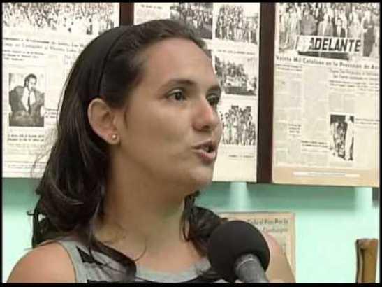Daicar Saladrigas González, directora del periódico Adelante, en Camagüey.